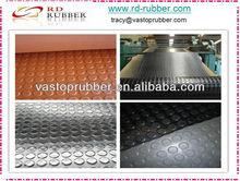Anti Slip Round Stud Coin Rubber Floor Mat