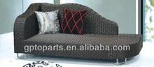 aluminium leisure wicker sofa furniture