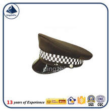 Different kinds of military navy air force peaked security guard caps
