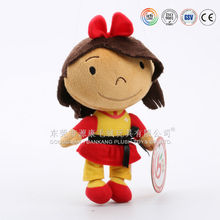 ICTI Audited Factory Wholesale 18 Inch Lovely Rag Plush Doll for Babies