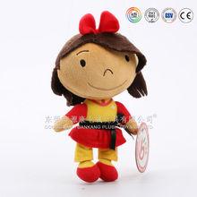 ICTI Audited Factory Wholesale 18 Inch Rag Doll for Girls Lovely Rag Dolls For Babies