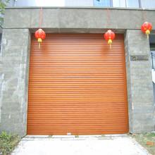 Automatic aluminum rolling shutter patio doors