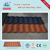 Double Roman Tiles Type Color Stone Chip Coated Metal Roofing Kenya