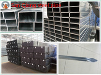 Q235 cold rolled steel pipes for furniture /building materials