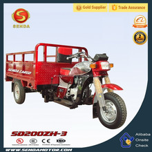 New tricycle, three wheel motorcycle 200cc SD200ZH-3