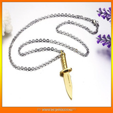 Dagger style Pendants Necklaces cheap jewellery present