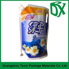 Printing plastic laundry detergent powder wash soap packaging bag