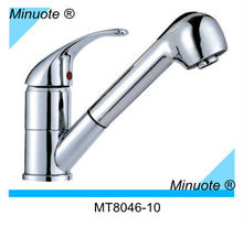 Sprayer Pull Out Kitchen Faucet With Flexible Hose