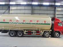 DTA Bulk cement,pulverized fly ash coal ash powder tank truck refiting trailer for cement ,pulverized fly ash manufacturer