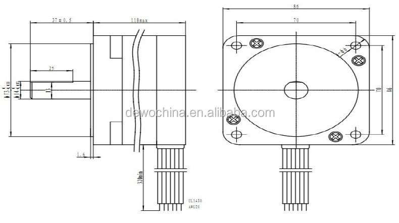 hybrid nema 34 3 axis cnc kit stepper motor driver