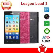 Original 4.5inch IPS Screen Leagoo Lead 3 Lead3 MTK6582 Quad Core Mobile Phone Android 4.4 5MP Camera 4GB ROM Dual Sim 3G GPS