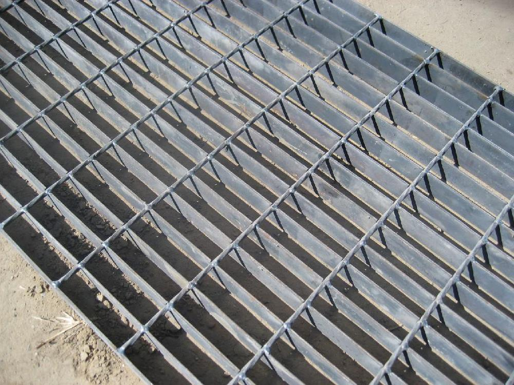 Steel grating plate galvanized floor gratings