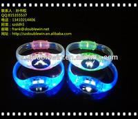2014 festival gift silicone flash bracelet