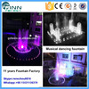 Factory specilized make garden outdoor decoration musical water dancing fountain