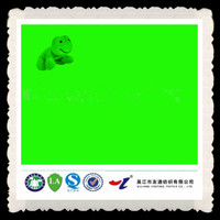 80 polyester 20 cotton fluorescent material green fabric dye