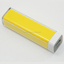 Factory cost low price portable Lipstick mobile phone power bank charger 2200MAH CE,ROHS,FCC,MSDS,UN38.3 AVAILABLE