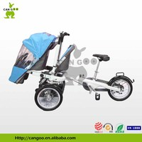 Hot Sale Folding Mother And Baby Bicycle Baby Pram 3 in 1