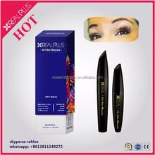 Private label REAL PLUS black white fiber mascara