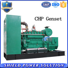 China Factory Diesel Gas CHP System Generator Set, Gas Diesel Dual Fuel Generator Set