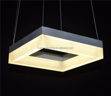 Modern decorative aluminum pendant light&square pendant light