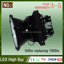 Alibaba china ip65 400w led high bay with Meanwell driver led high bay light for warehouse,factory,Park,Sports,Garden,Tunnel