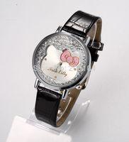 Cool Stylish Cute cartoon watches Woman girl Children quartz watch gift fashion leather Wrist Watch Christmas Gift Relogio