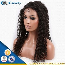 New products tangle free 100% brazilian virgin curly afro natural long hair wigs for black women