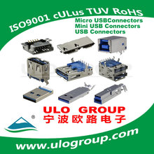 Super Quality Factory Direct Mini Usb 5pin Female Connector Manufacturer & Supplier - ULO Group
