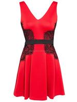 Original brand name girl dresses design 2015