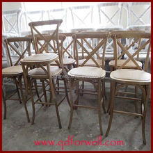 Solid Wood Restaurant Chairs custom-made bar stool parts gas lift for coffee hotel
