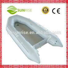 PVC Rowing Inflatable Boat With Air-bottom