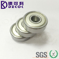 Factory price motorcycle rear wheel bearing 6301 6301-2RS deep groove ball bearing