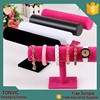velvet leather bangle bracelet jewelry display stand hot design different colors
