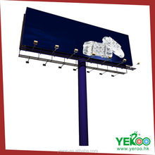 Foshan YEROO Easy Assembly Outdoor Advertising Billboard for sale with big discount