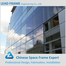 Point Supporting Steel Structure Building Frameless Glass Curtain Wall