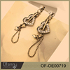 Fashion Modeling Earrings Design Vintage Jewelry For Valentine's Gifts