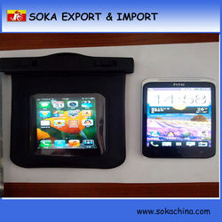Transparent PVC mobile phone Waterproof Pouch Bag