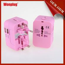 New Design travel adapter plug korea