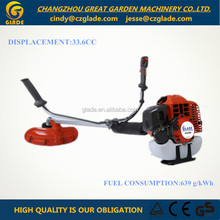 grass trimmer manual brush cutter 2 stroke gasoline 0.9kw new brush cutter