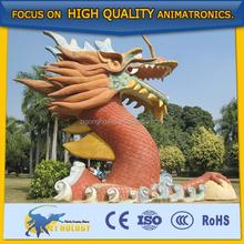 Giant Landscape Statues/lifesize Dragon Statues for Amusement Park/Event/Activitives