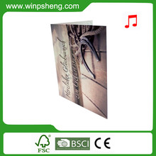 2015 Fashionable Recordable Sound Chip Business Card