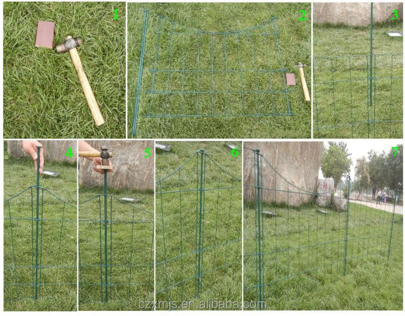 Garden Decorations No Dig Fence