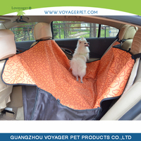 Lovoyager Cute Candy Cartoon Waterproof Dog Car Seat Cover