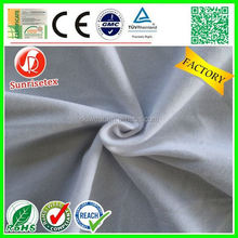 popular Comfortable suede fabric for sofa for diapers