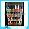hot sell transparent acrylic E-liquid case for shop display lucite e-juice display