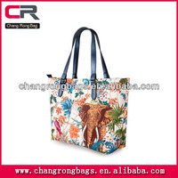 2014 Cheap and good quality custom printed canvas tote bags