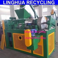 Plastic PP PE Film Squeeze Machine Squeezer