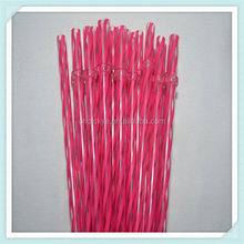 Various types of hard pp/pvc straws with logo for food industry