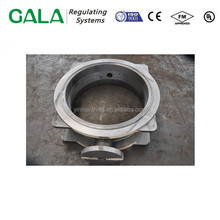Butterfly valve body heat resistant ggg40 cast iron