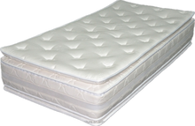 Double pillow top soft bamboo single/double/queen/king memory foam mattress RHOMBUS